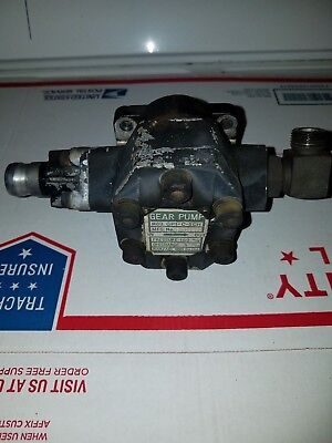 John Deere 655 Tractor Am875160 Hydraulic Pump Assembly Kanzaki Model Gp1-c-5ch