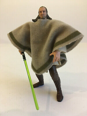 Star Wars: Qui-Gon Jinn - Mos Espa Disguise - Power Of The Jedi (POTJ) 2000
