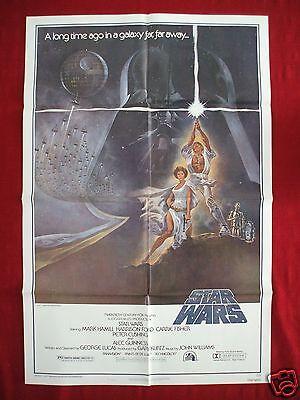 STAR WARS * 1977 ORIGINAL MOVIE POSTER STYLE A AUTHENTIC OBI-WAN HALLOWEEN NM-M](Halloween Movie 1977)