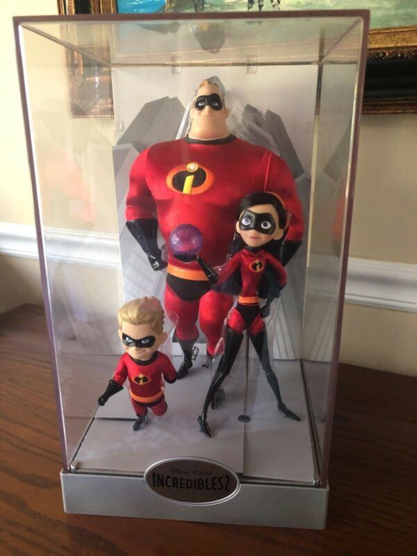 Disney Store Exclusive The Incredibles 2 Limited Edition Doll Violet Dash Mr.