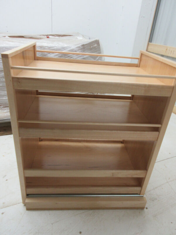 Roll out 3 Shelf Hoffco Inc Base Cabinet Organizer