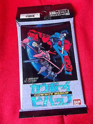 COWBOY BEBOP TRADING CARDS  / BANDAI 1999 / 10 cards pack / UK DESPATCH