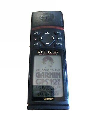 Garmin 12 XL Personal Handheld Navigator Hiking Hunting 12 Channel GPS Receiver