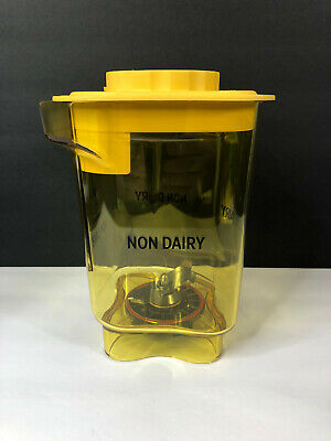 Vitamix Blending Station Advance Container Jar Non-dairy Yellow With Lid Blade