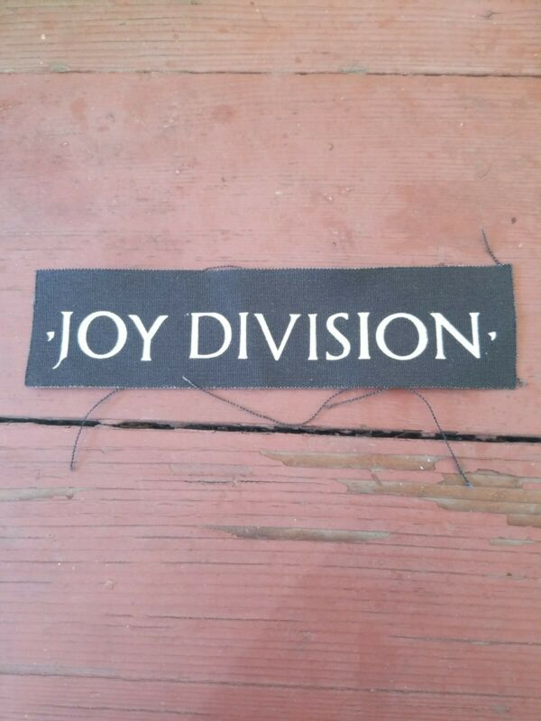 JOY DIVISION JACKET PATCH