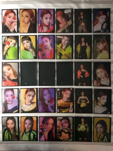 ITZY - GUESS WHO - Official Photocards - YEJI LIA RYUJIN CHARRYEONG YUNA [US]