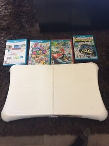Wii U games and board