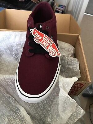 VANS ATWOOD LOW MEN'S SHOES BRAND NEW SIZE UK 9 (AC1)