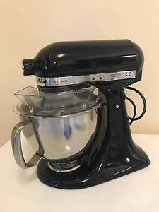 Kitchenaid Artisan KSM150 Mixer - Black Mosman Mosman Area Preview