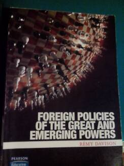 Foreign Policies of the Great and Emerging Powers 1st edition Bundaberg Central Bundaberg City Preview