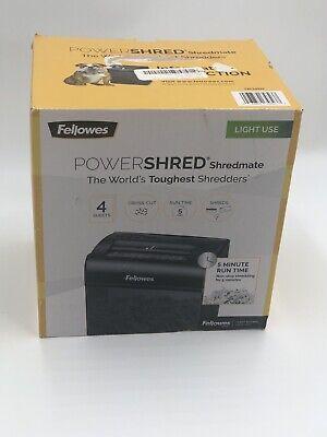 Fellowes Powershred Cross-cut Shredderdistress Box