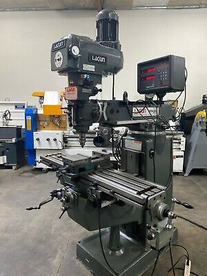 Lagun Ftv-2s Variable Speed Milling Machine Digital Readout Power Feed 5714