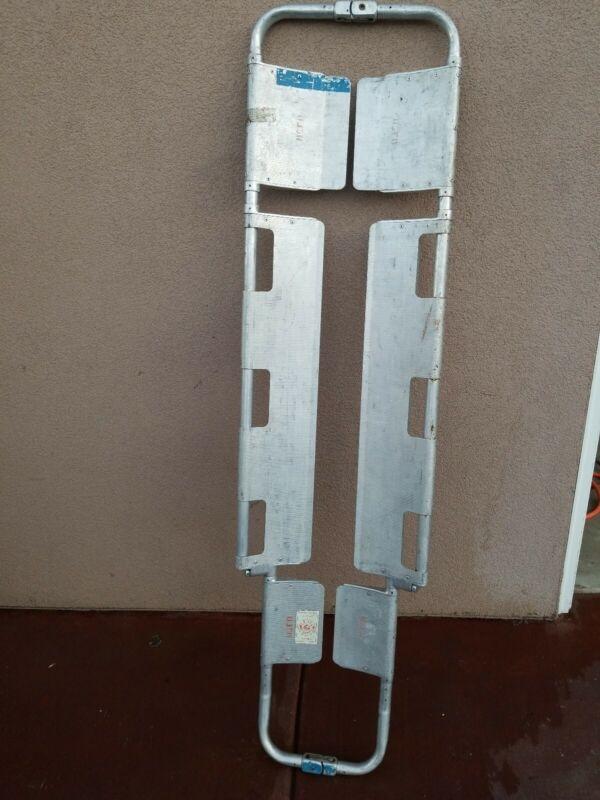 Ferno Model 65 Scoop Stretcher Adjustable Lightweight Aluminum Medical Backboard