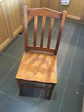 5 wooden chairs Lindfield Ku-ring-gai Area Preview