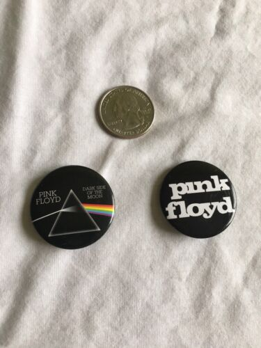 Pink Floyd 1 Pins -lot Of 2- Dark Side Of The Moon - $2.75