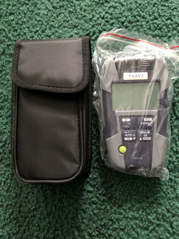 JDSU Viavi OLP-35 2302/12 SmartPocket Optical Power Meter With Case Rev .008