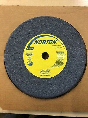 Norton 57a 60-m5vbe Alundum 10 Grinding Wheel Brand New