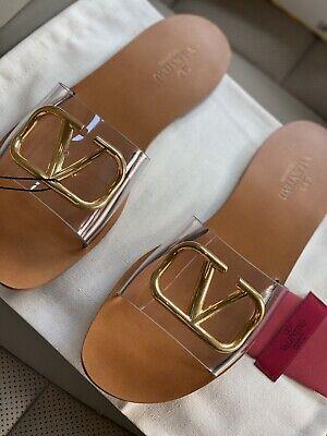 Valentino Garavani Vlogo Sandals Size 39/US 9