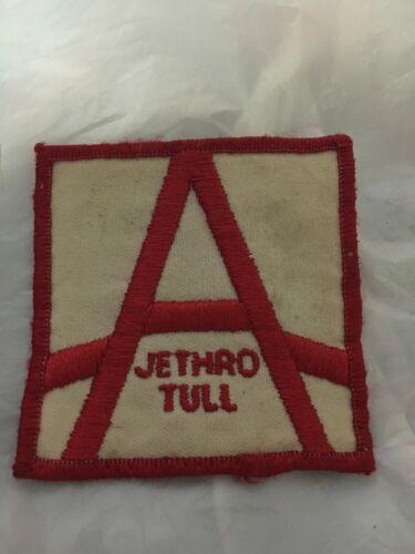 JETHRO TULL 1980 A U.S.TOUR ORIGINAL VINTAGE CONCERT PATCH