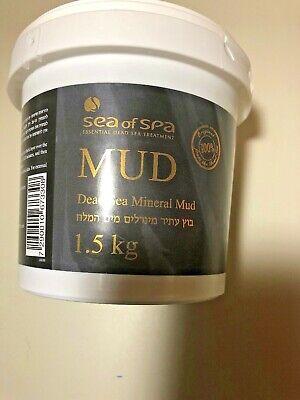 Sea of Spa Dead Sea Mineral Mud - 1.5 kg (3.5 lbs) tub - New
