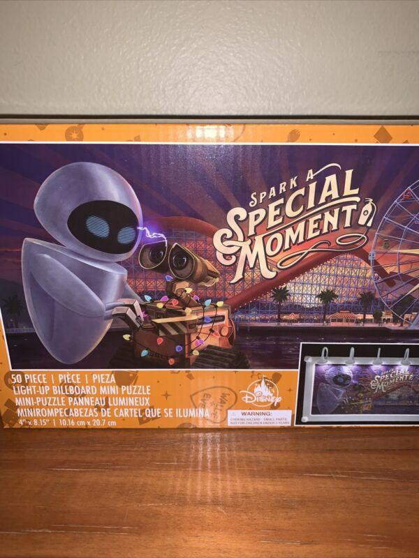 Disney Wall-e & Eve Spark A Special Moment Puzzle DCA Light Up