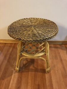 Small Cane Coffee/Side Table
