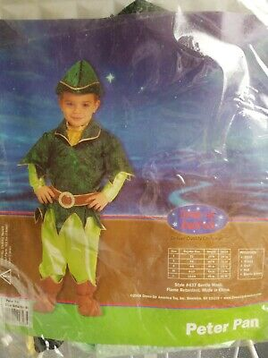 Peter Pan COSTUME DRESS UP AMERICA  CHILD - Peter Pan Dress Up Kostüme