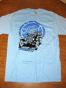 all ohio model t ford jamboree med t shirt 2010 akron