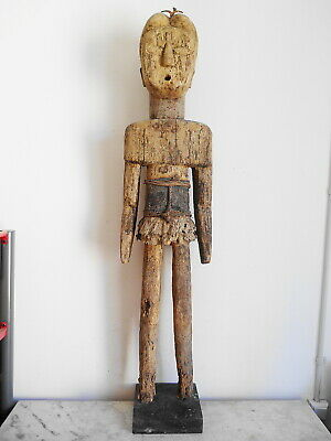 Statue XXL (Britain's Got Talent) Aklama African Tribale Art 125cm Arte