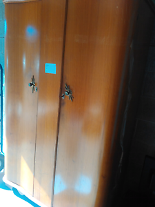 Wooden Wardrobe Solid Westmead Parramatta Area Preview