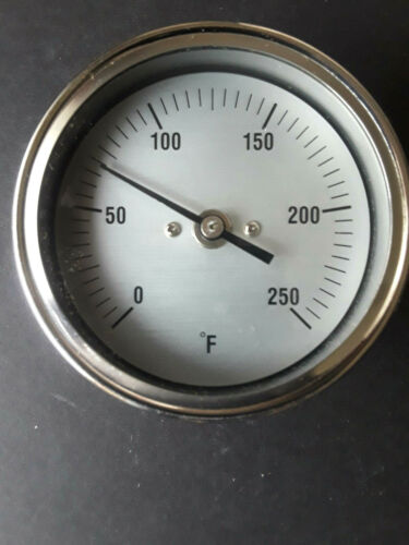 """3"""" Dial Thermometer;  4"""" stem"""