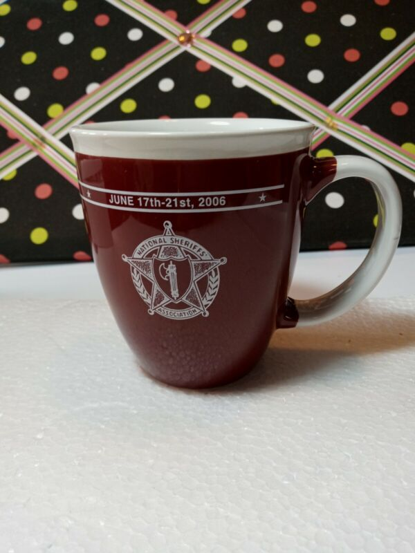 National Sheriff Association Annual Conference 2006 Large Coffee Cup/Mug