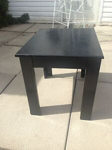 Small, black table
