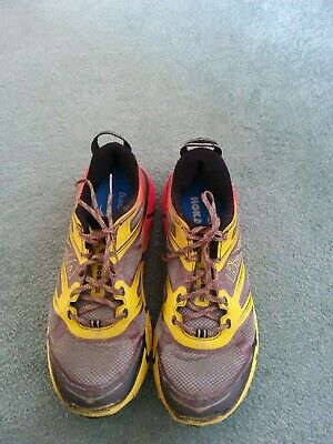 MENS  HOKA ONE CHALLENGER ATR 2 RUNNING SHOES SIZE UK 8 GOOD CONDITION