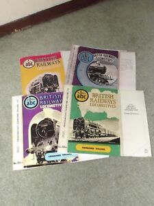Ian Allan ABC COMBINED VOLUME Replacement Dust Jackets - Most Years Ex Stock