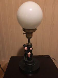 Drunk man man cave lamp pole lamp