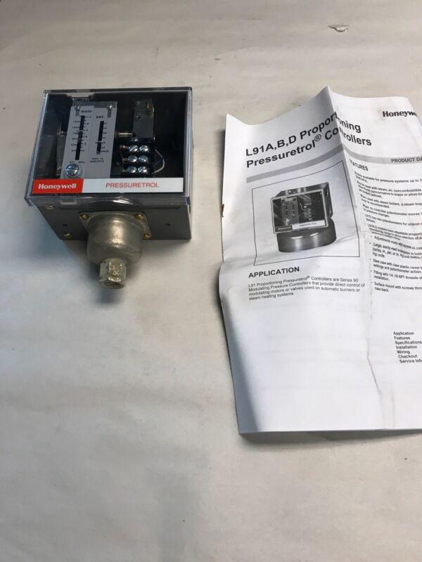 Honeywell L91B1050 Pressuretrol Controller NOS