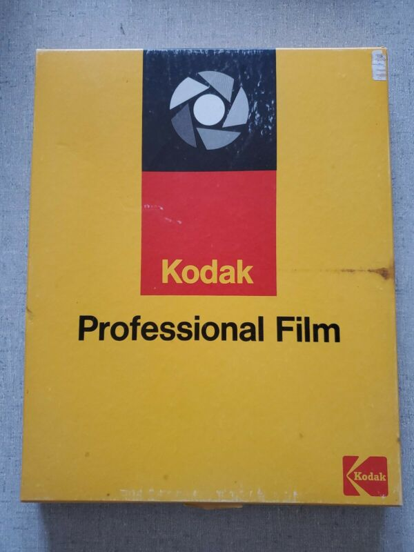 Kodak Plus X Pan Professional Film 4147 Vintage Sealed Rare 25 8x10