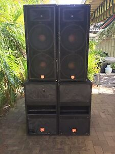 JBL PA Speakers - Big System ! Make an offer !! Umina Beach Gosford Area Preview