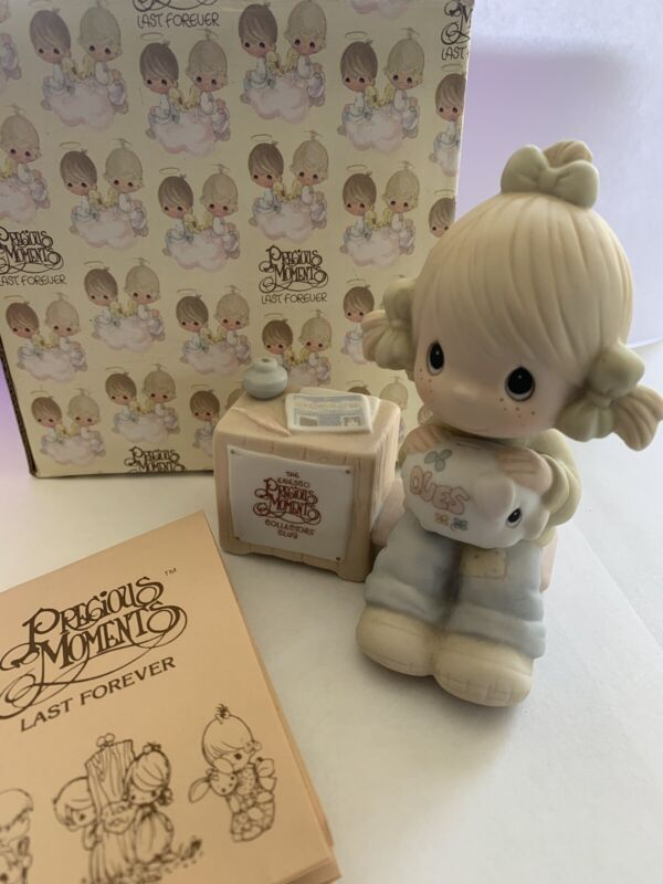 Precious Moments #E 0404 (Join in on the Blessings) Enesco 1983 Collectors Club