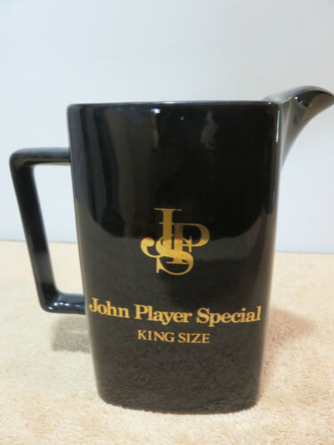John Player Special King Size Vintage Barware Pitcher Tobacco Cigarettes Bar