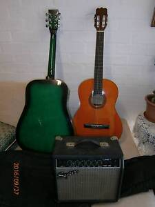 2 x Guitar and Amp Woolloomooloo Inner Sydney Preview