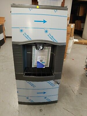 As Is Manitowoc Ice Spa160 Floor Model Cube Ice Dispenser 120 Lb Storage