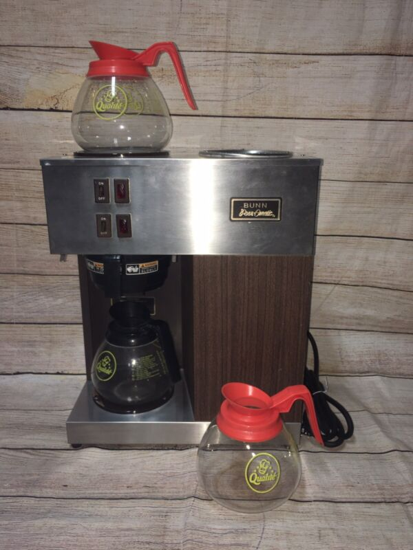 Vintage Bunn Pour-Omatic VPR Commercial Coffee Machine Used