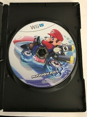 Mario Kart 8 - Wii U - DISC ONLY - Tested