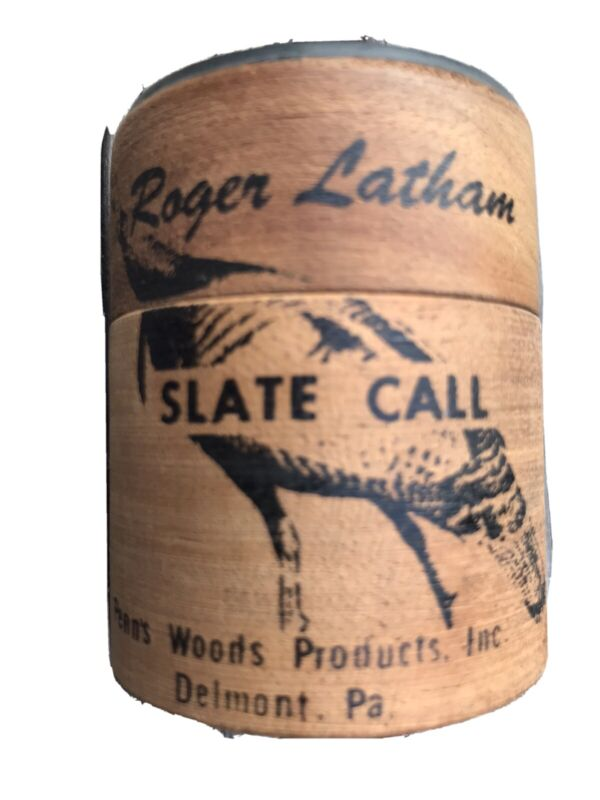 Penn's Woods Roger Latham Turkey Slate Call New Unused