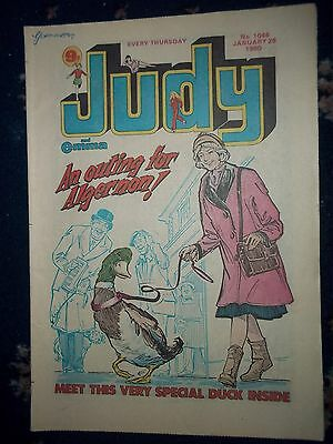JUDY COMIC #1046 [26TH JAN -1980]  SELINA THE SILENT ONE / ROGER DALTREY