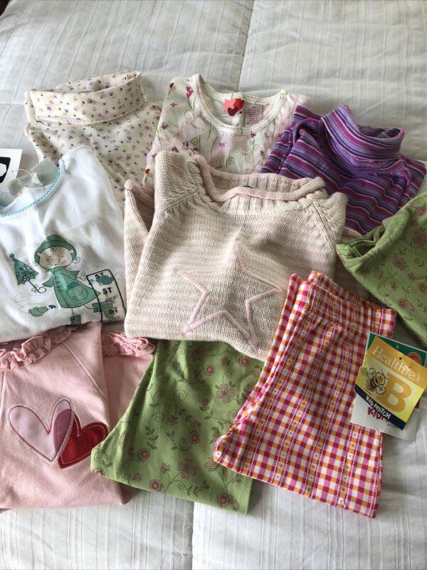 New Girls Clothing Lot Size 5 (healthtex, Circo, Oshkosh And More) 9 Piece Lot