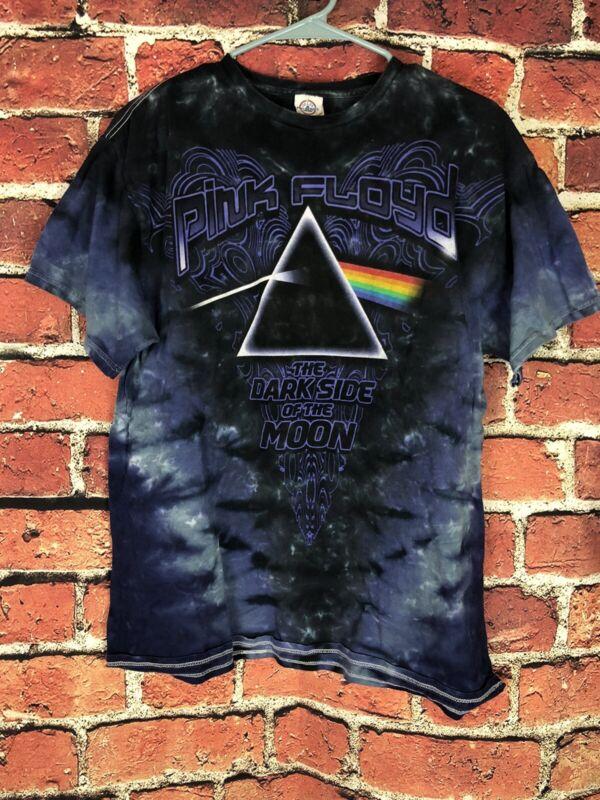 Vintage Y2K Era Tie Dye Pink Floyd Tshirt Size L FREE SHIPPING