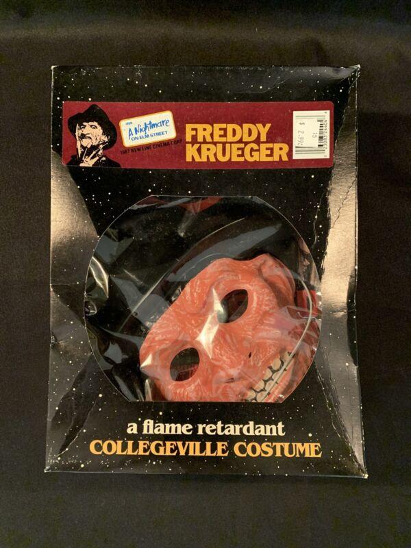 "Nightmare On Elm Street Freddy Krueger Collegeville Halloween Costume ""M"" NOS"